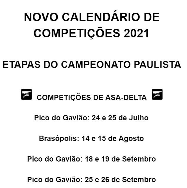 Asa delta - Paulista